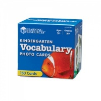 KINDERGARTEN VOCABULARY PHOTO CARDS