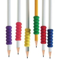 FOAM RIDGED PENCIL GRIPS (PACK OF 2)