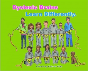 'DYSLEXIC BRAINS LEARN DIFFERENTLY' by the Reading Class, Ennis National School
