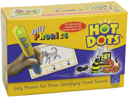 HOT DOTS JOLLY PHONICS SET THREE: IDENTIFYING VOWEL SOUNDS