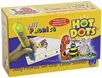 HOT DOTS JOLLY PHONICS SET ONE: LETTER SOUNDS