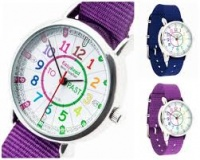EASYREAD TIME TEACHER WATCH - RAINBOW COLOURS